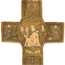 Unknown Artist, Chasuble cross embroidered with Pietà, Angels, and Saints